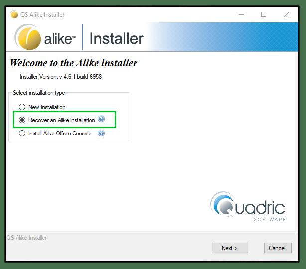 recover-alike-installer